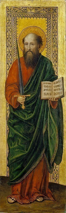 Святой Павел (Диптих Баглиони). Бергоньоне (Амброджо да Фоссано)