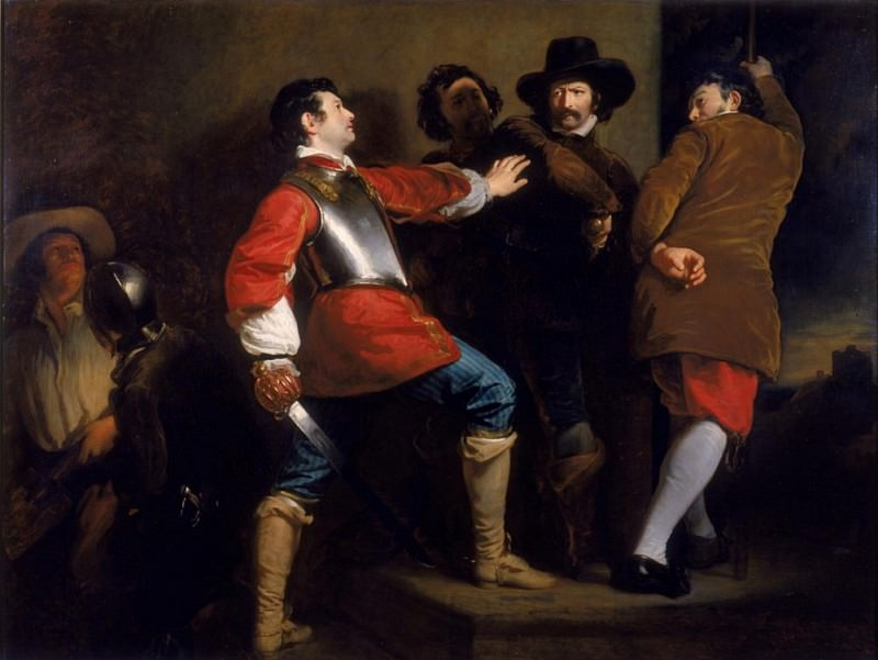 The Discovery of the Gunpowder Plot and the Taking of Guy Fawkes. Henry Perronet Briggs