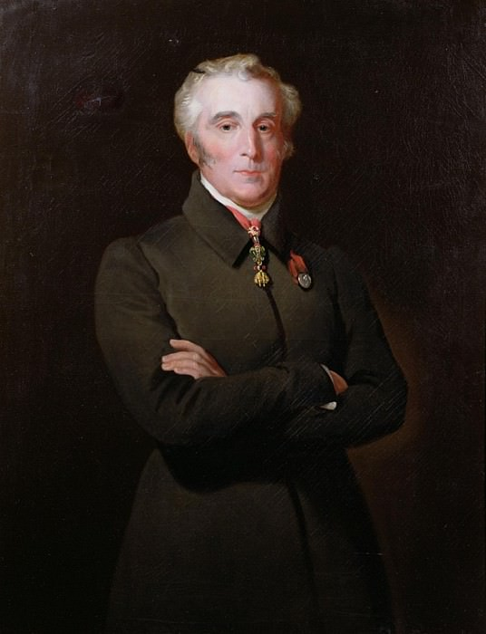 Portrait of Arthur Wellesley, 1st Duke of Wellington (1769-1852). Henry Perronet Briggs