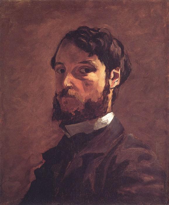 Self Portrait. Frederic Bazille