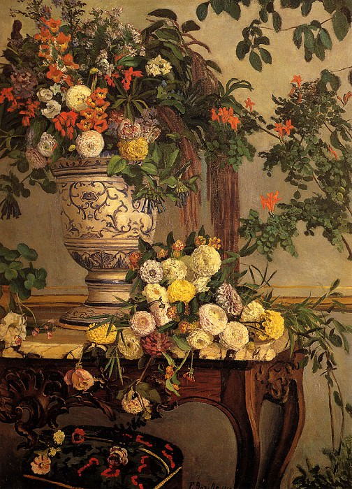 Flowers. Frederic Bazille