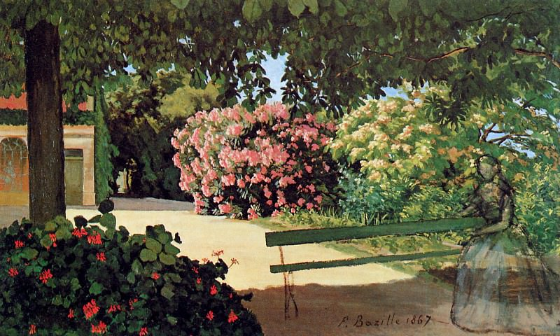 Terras in Meric. Frederic Bazille