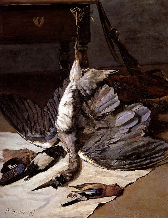 The Heron. Frederic Bazille