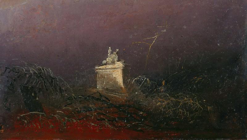 Tomb. Carl Blechen