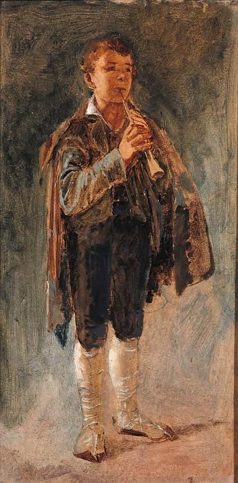 Пиффераро с флейтой. Карл Блехен