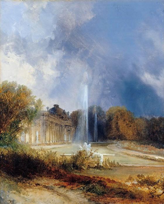 Sanssouci Palace. Carl Blechen