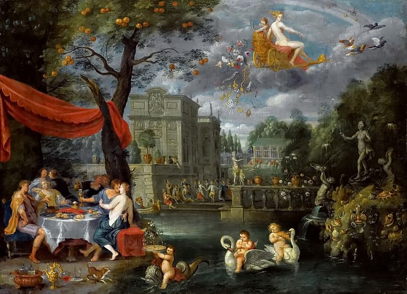 Allegory of peace (attr.). Jan Brueghel the Younger
