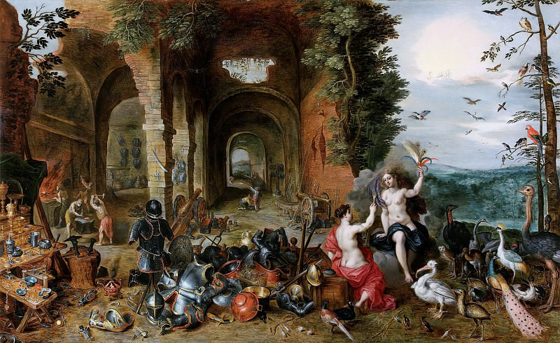 Allegory of air and fire. Jan Brueghel the Younger