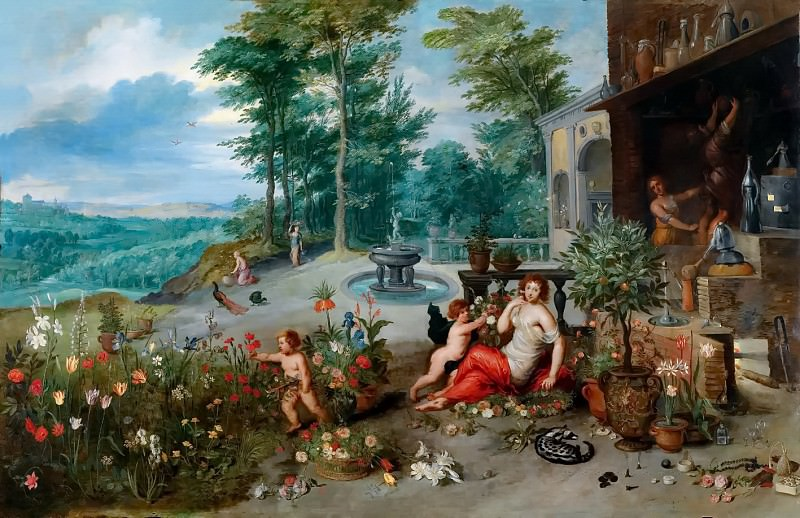 Allegory of the smell. Jan Brueghel the Younger