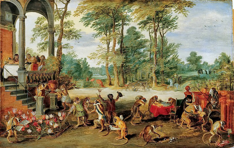 Tulipomania. Jan Brueghel the Younger