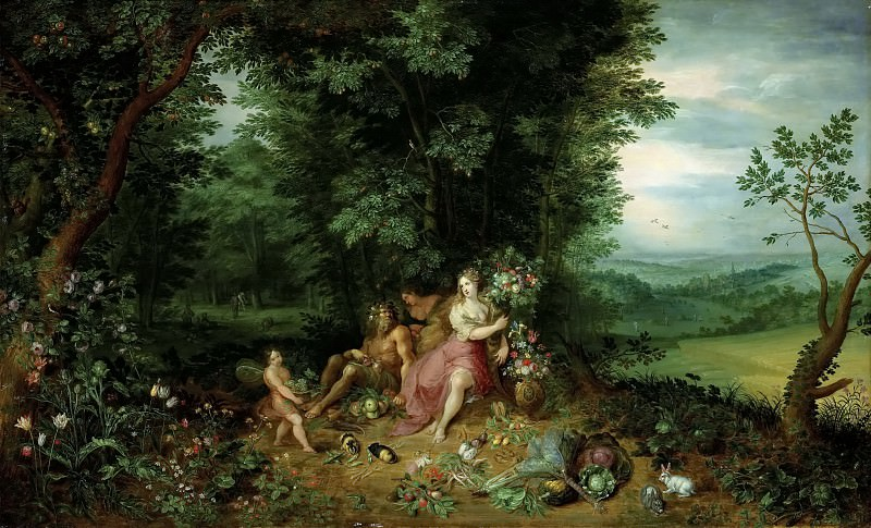 Allegory of the earth. Jan Brueghel the Younger