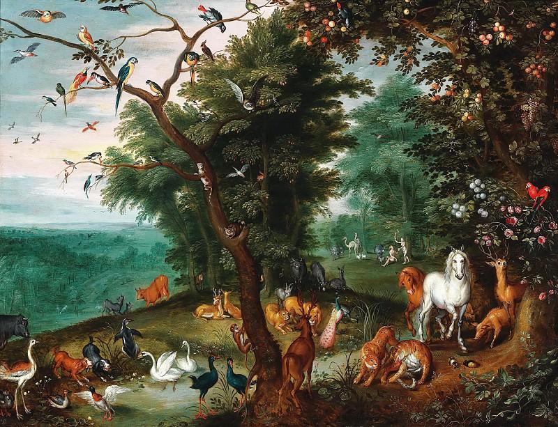 Garden of Eden. Jan Brueghel the Younger