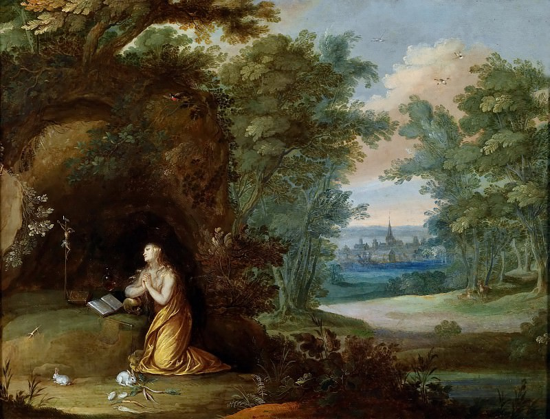 The praying Mary Magdalene. Jan Brueghel the Younger
