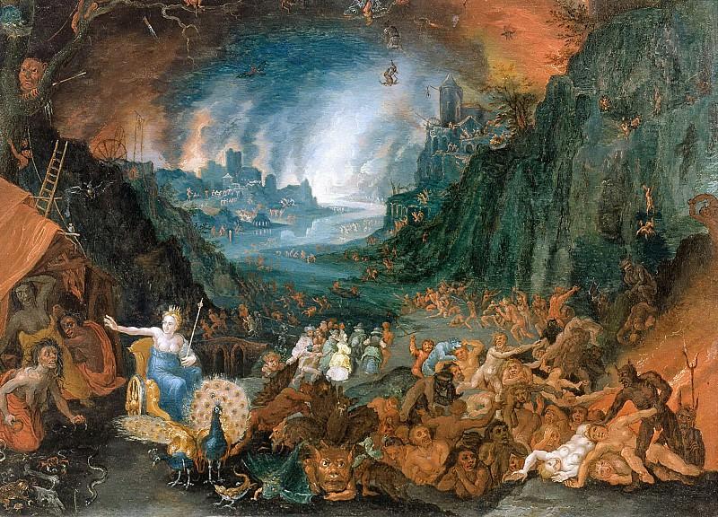 Juno in the Underworld. Jan Brueghel the Younger