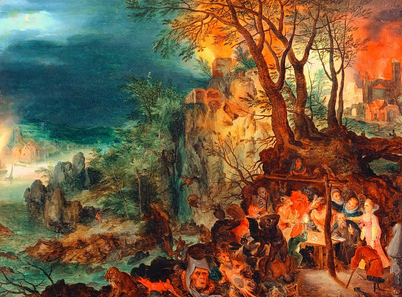 The Temptation of St. Antony. Jan Brueghel the Younger