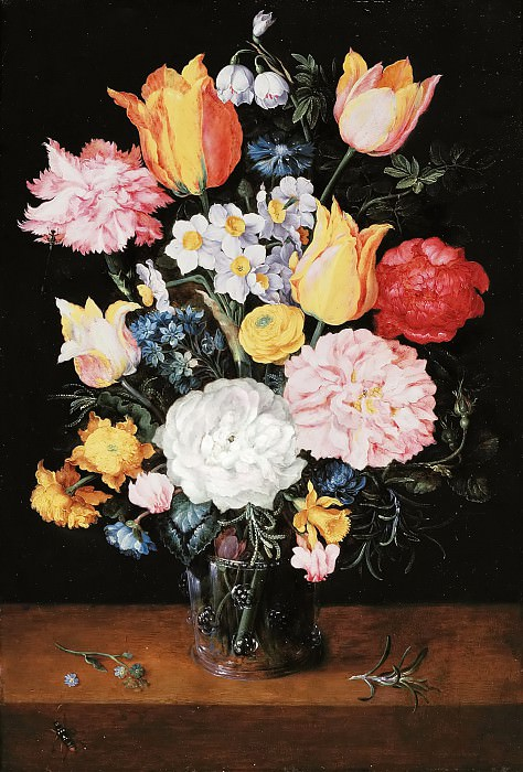 Still Life with Flowers. Jan Brueghel the Younger