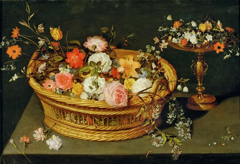 A still life of flowers. Jan Brueghel the Younger