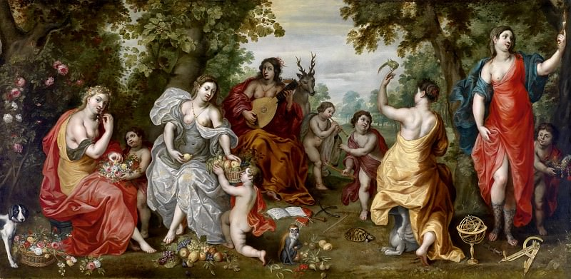Allegory of the Five Senses. Jan Brueghel the Younger