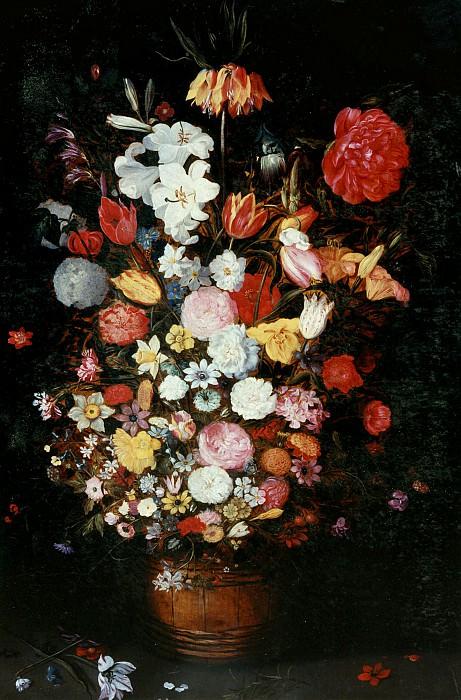 Букет цветов в вазе. Jan Brueghel the Younger