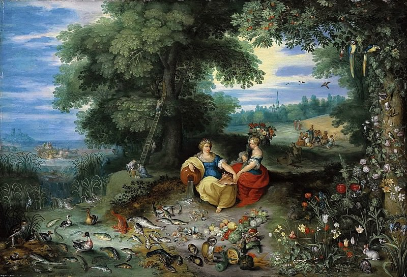 An Allegory of Water and Earth. Jan Brueghel the Younger