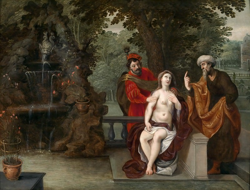 Susanna and the Elders. Jan Brueghel the Younger