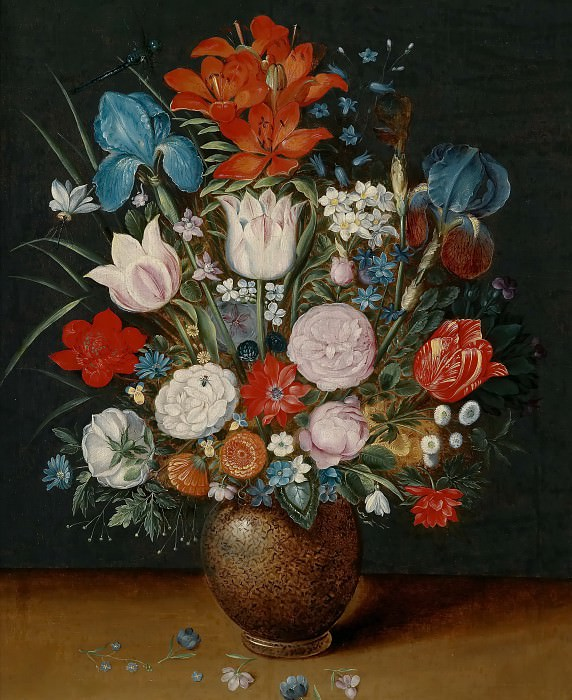 Bouquet of Flowers in a Vase. Jan Brueghel the Younger