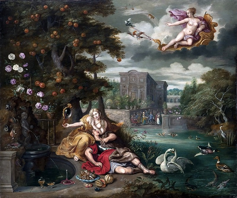 Allegory of Love. Jan Brueghel the Younger