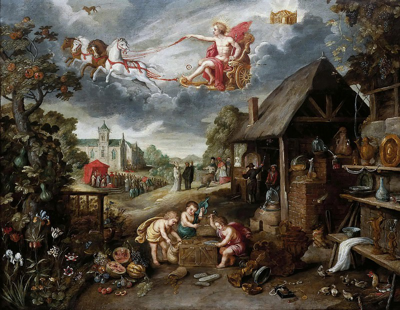 An Allegory of War and Peace. Jan Brueghel the Younger