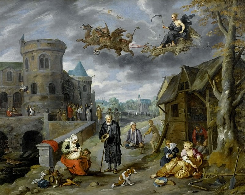 Children of the Planet Saturn. Jan Brueghel the Younger