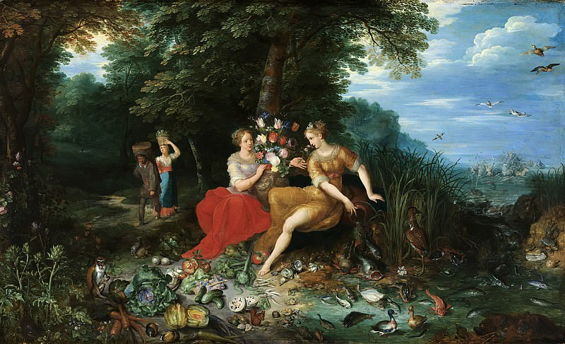 Earth and water. Jan Brueghel the Younger