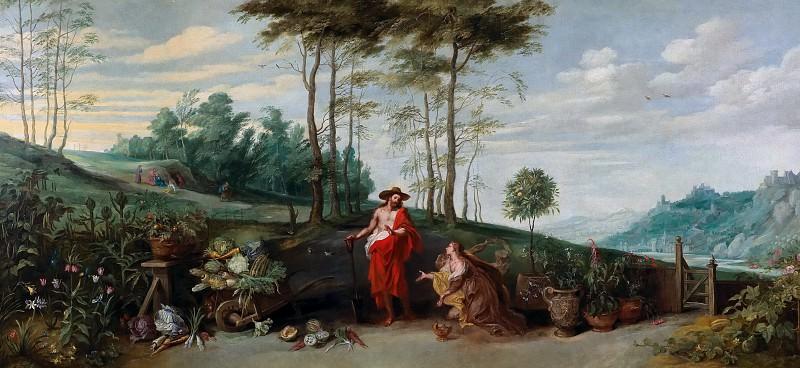Noli me tangere. Jan Brueghel the Younger