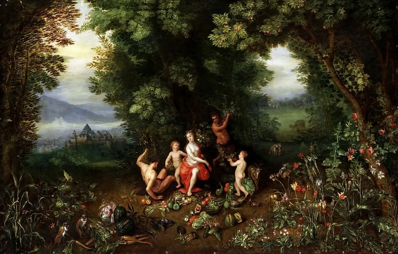 Ceres. Jan Brueghel the Younger