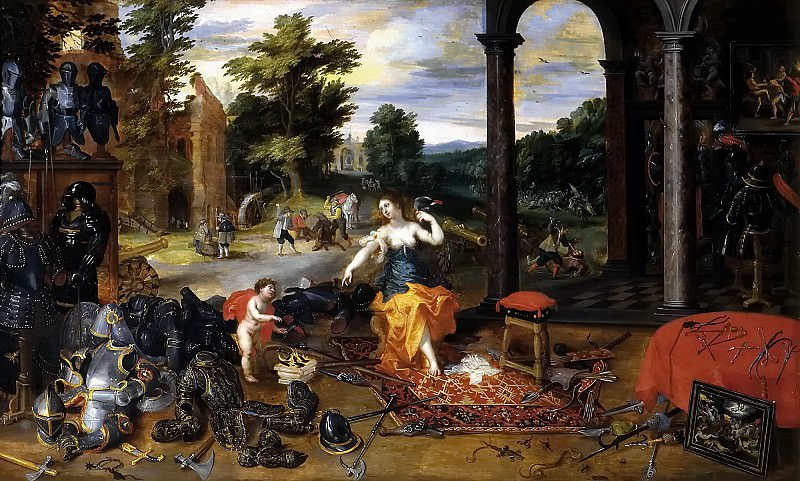 Allegory of war. Jan Brueghel the Younger