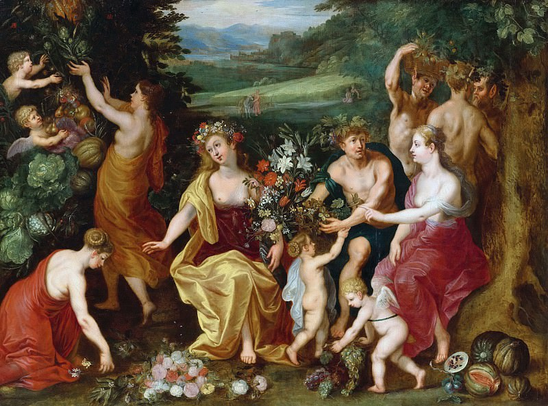 Allegory of fruitfulness. Jan Brueghel the Younger