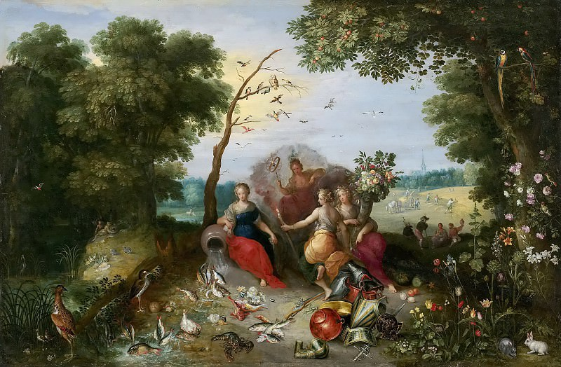 Allegories of the Four Elements. Jan Brueghel the Younger