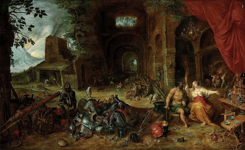 Allegory of Fire. Jan Brueghel the Younger