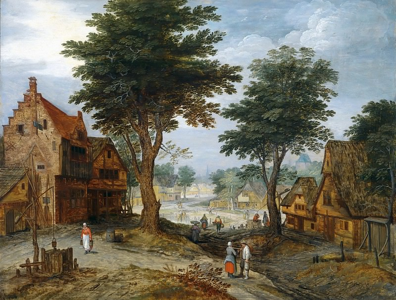 Country Landscape. Jan Brueghel the Younger