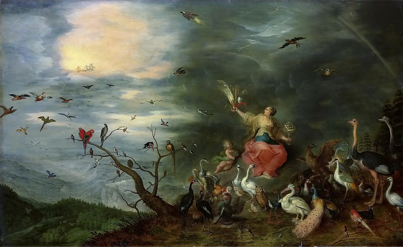 Allegory of the air. Jan Brueghel the Younger