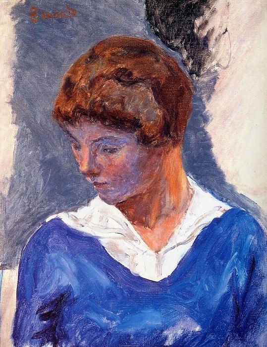 Молодая женщина. Пьер Боннар