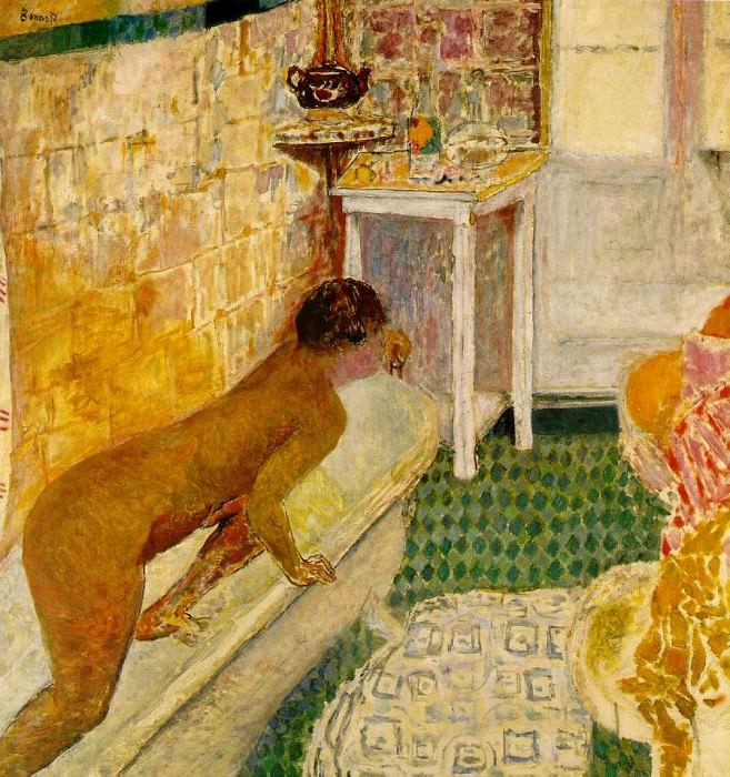 Выход из ванны, ок. 1930. Пьер Боннар