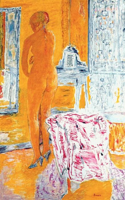 Большая желтая обнаженная, 1931. Пьер Боннар