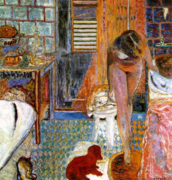 Утренний туалет, ок. 1932. Пьер Боннар
