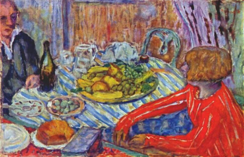 luncheon c1927. Pierre Bonnard