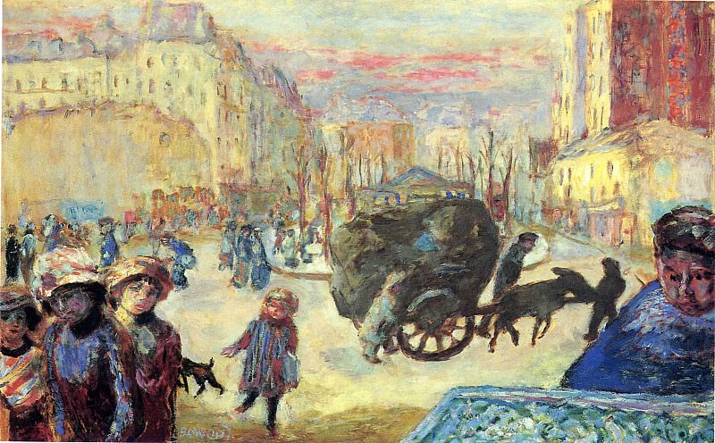 Утро в Париже. Пьер Боннар