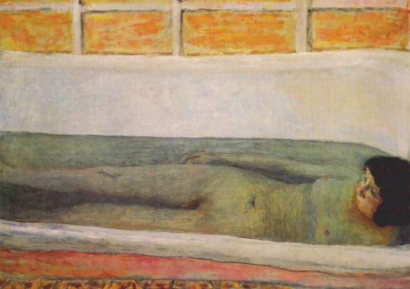 Ванна. Пьер Боннар