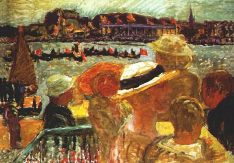Регата, 1913. Пьер Боннар