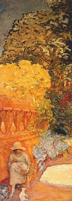 mediterranean ii left panel. Pierre Bonnard