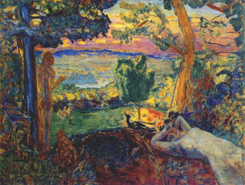 the earthly paradise 1916 20. Pierre Bonnard