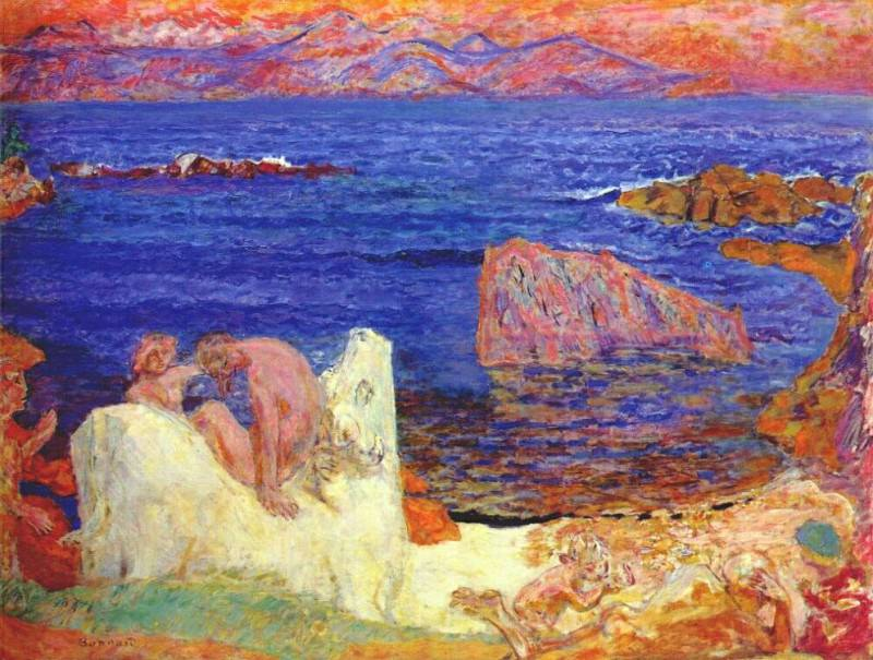 the abduction of europa 1919. Pierre Bonnard