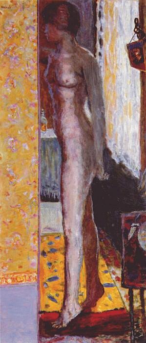 standing nude 1920. Pierre Bonnard